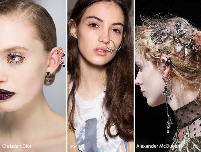 fall_winter_2016_2017_accessory_jewelry_trends_ear_cuffs_piercings